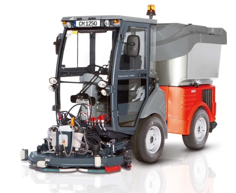 Mașină de aspirație stradală Citymaster 1250plus HAKO