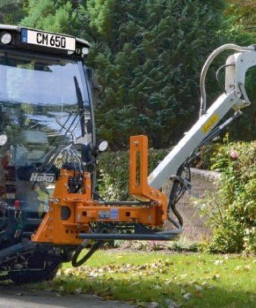 mașina pentru curățenie stradalăstrongCitymaster 1250plus stopeste spatii verzi